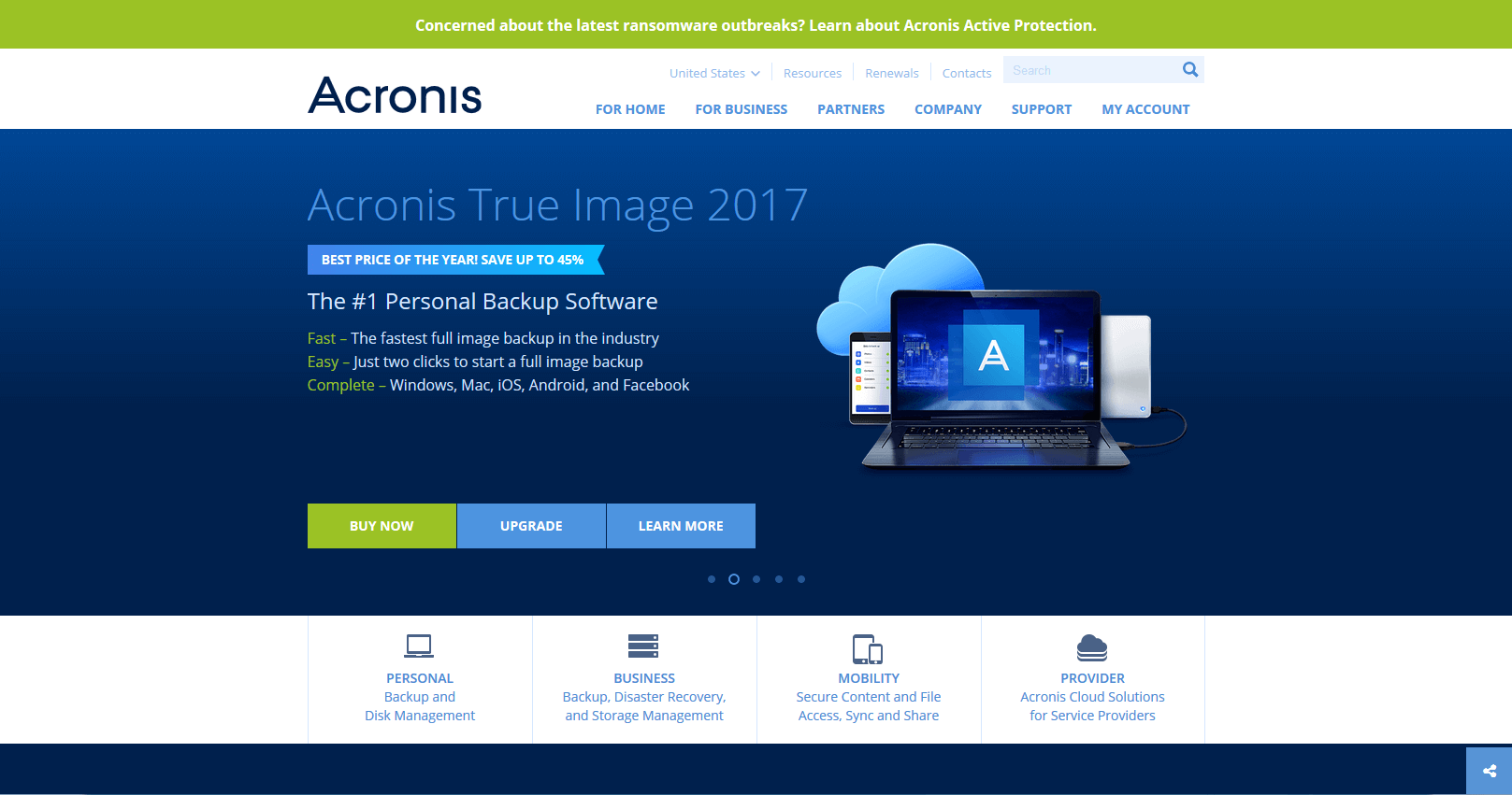 acronis true image 2017 iso boot usb
