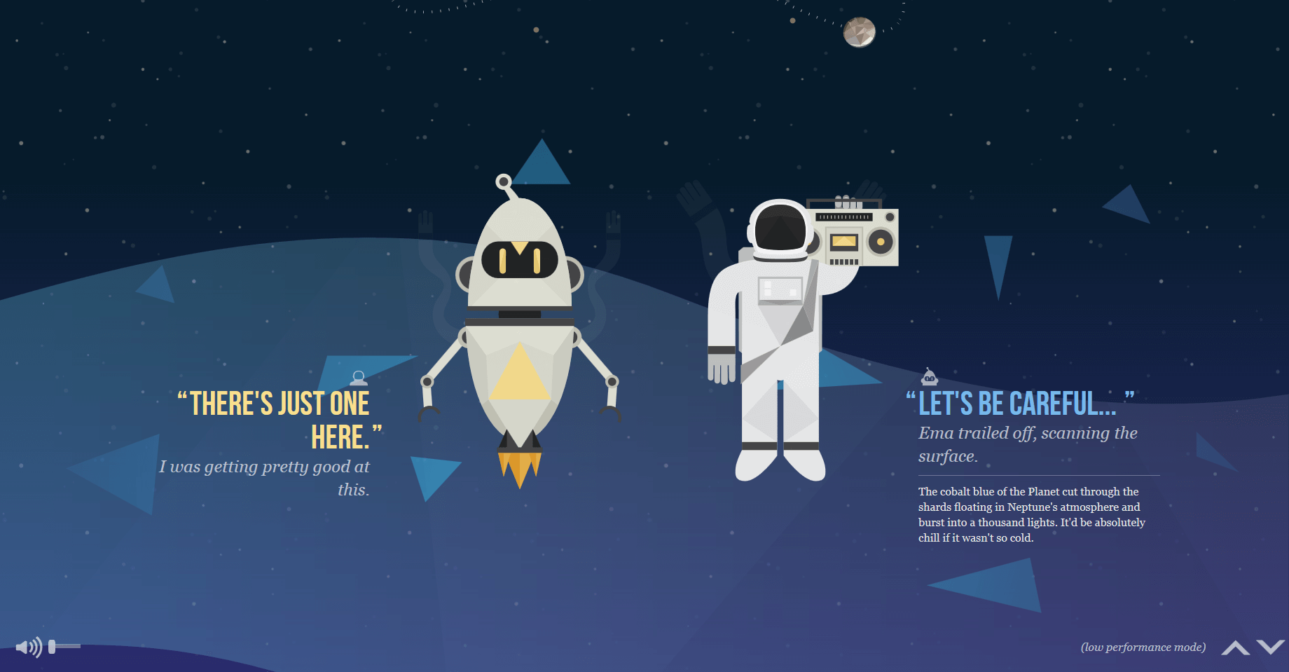 Parallax websites: scrolling with 3D effect - 1&1 IONOS