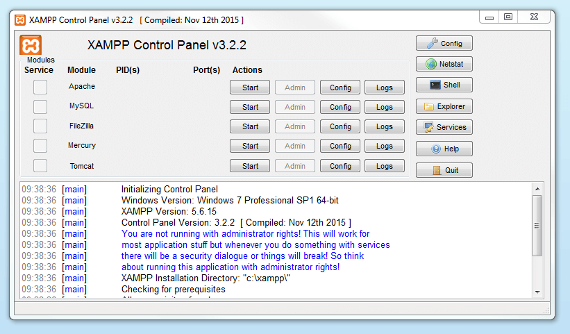 XAMPP tutorial: create your own local test server - 1&1 IONOS