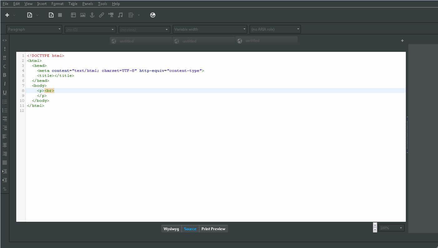 dreamweaver freeware alternative
