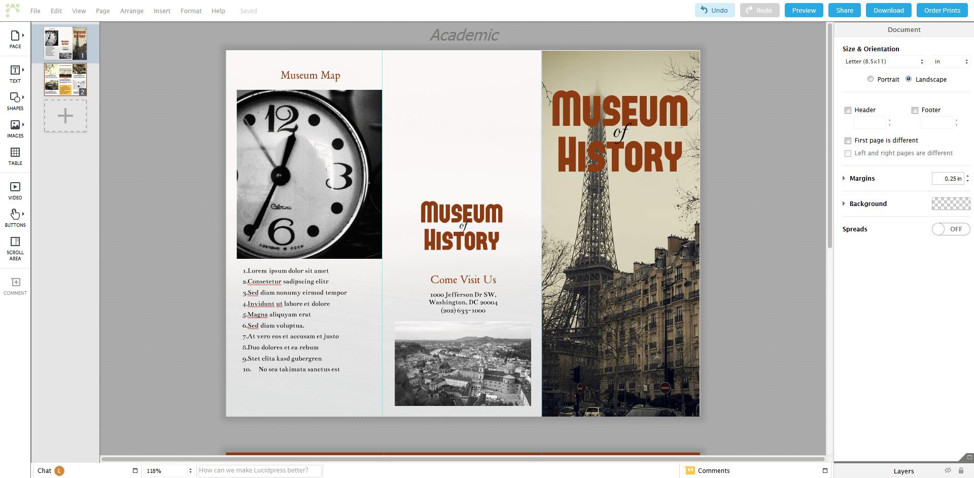 Free alternatives to Adobe InDesign - 1&1 IONOS