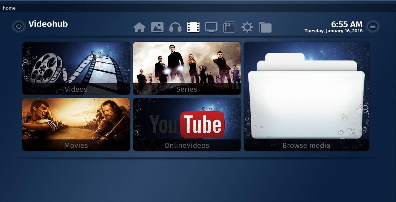 The 5 best alternatives to Kodi: Media center comparison - 1&1 IONOS