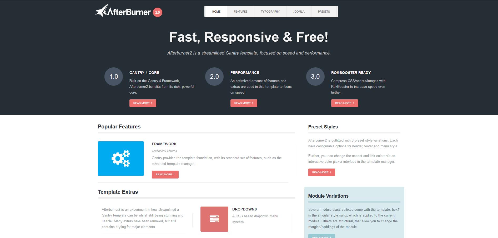 Seven best free Joomla templates - 1&1