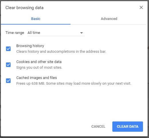 ERR_CONNECTION_RESET: How to fix the Chrome connection