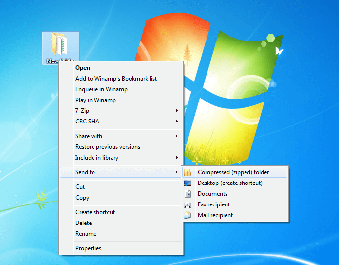 Create a ZIP file: How to compress your data - 1&1 IONOS