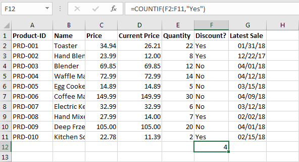Excel if-then statements: Formula simply explained with examples