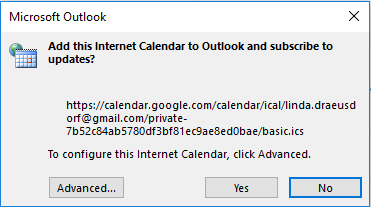 Outlook google calendar sync | How to sync google calendar