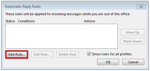 Here´s how to set up an out-of-office message in Outlook