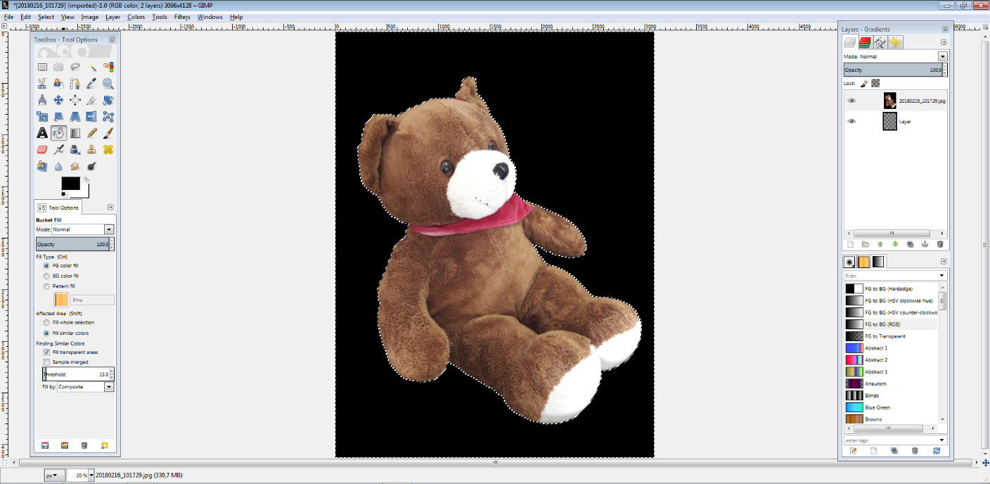 How to remove the background of digital images - 1&1 IONOS