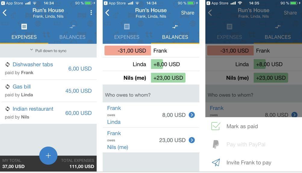 Sharing the cost  Best bill splitting apps - 1&1 IONOS
