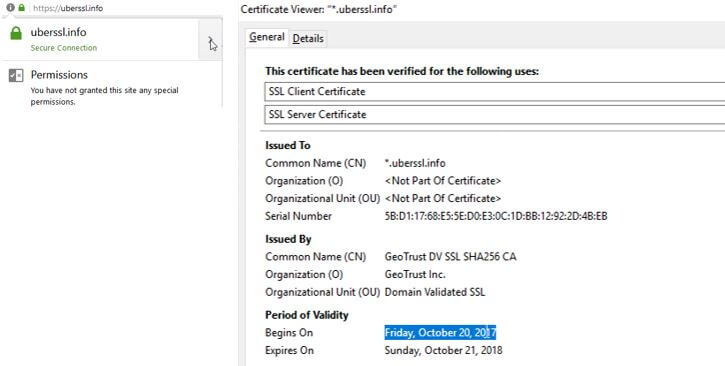 Replacing an SSL Certificate affected by Browser Distrust - 1&1