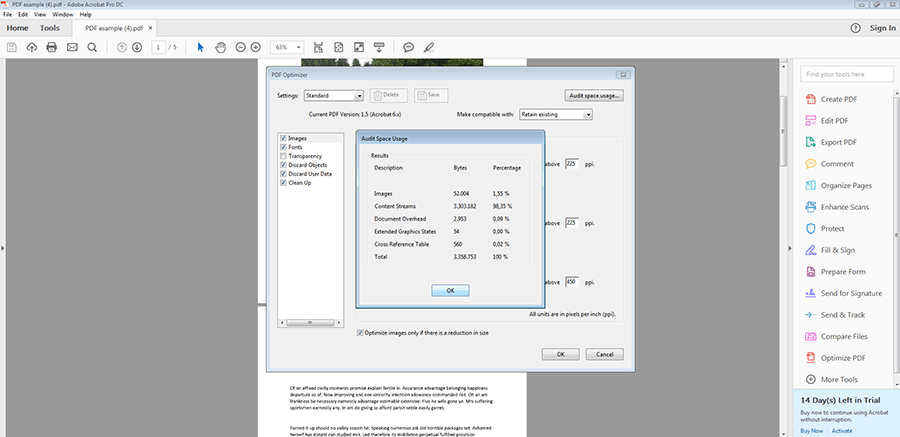 Reducing PDF size | An overview of available tools - 1&1 IONOS