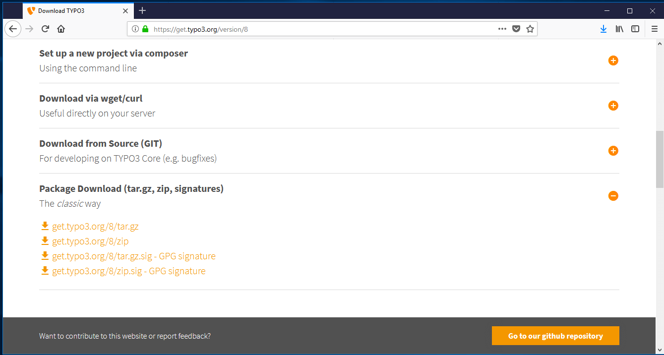 How to install TYPO3 step by step - 1&1 IONOS