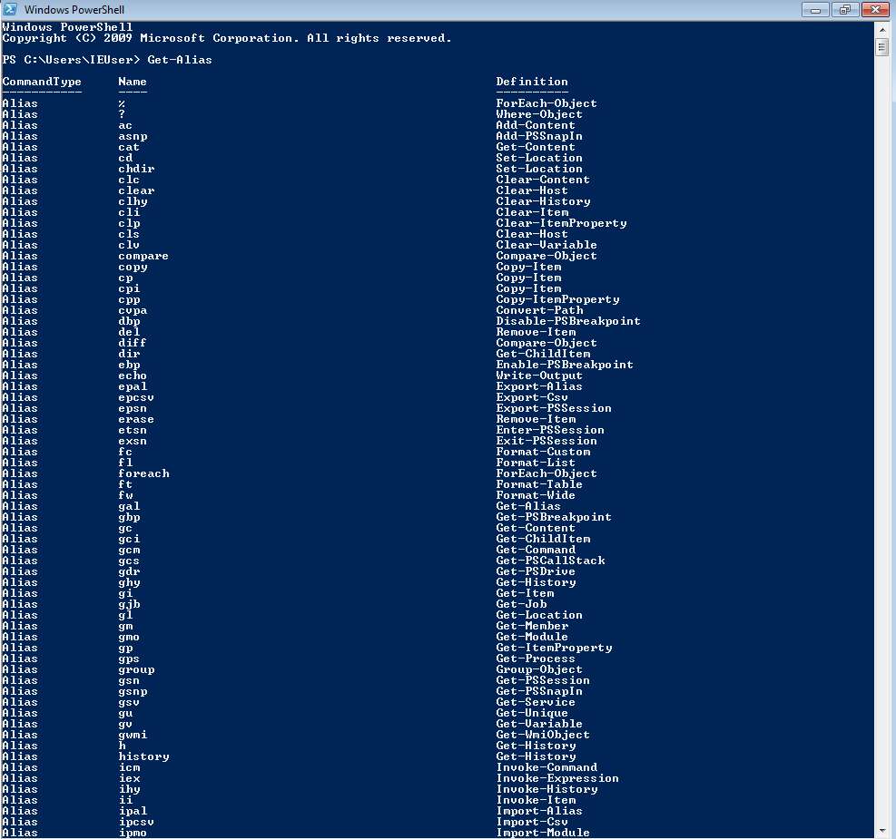 PowerShell | System management tool & scripting environment