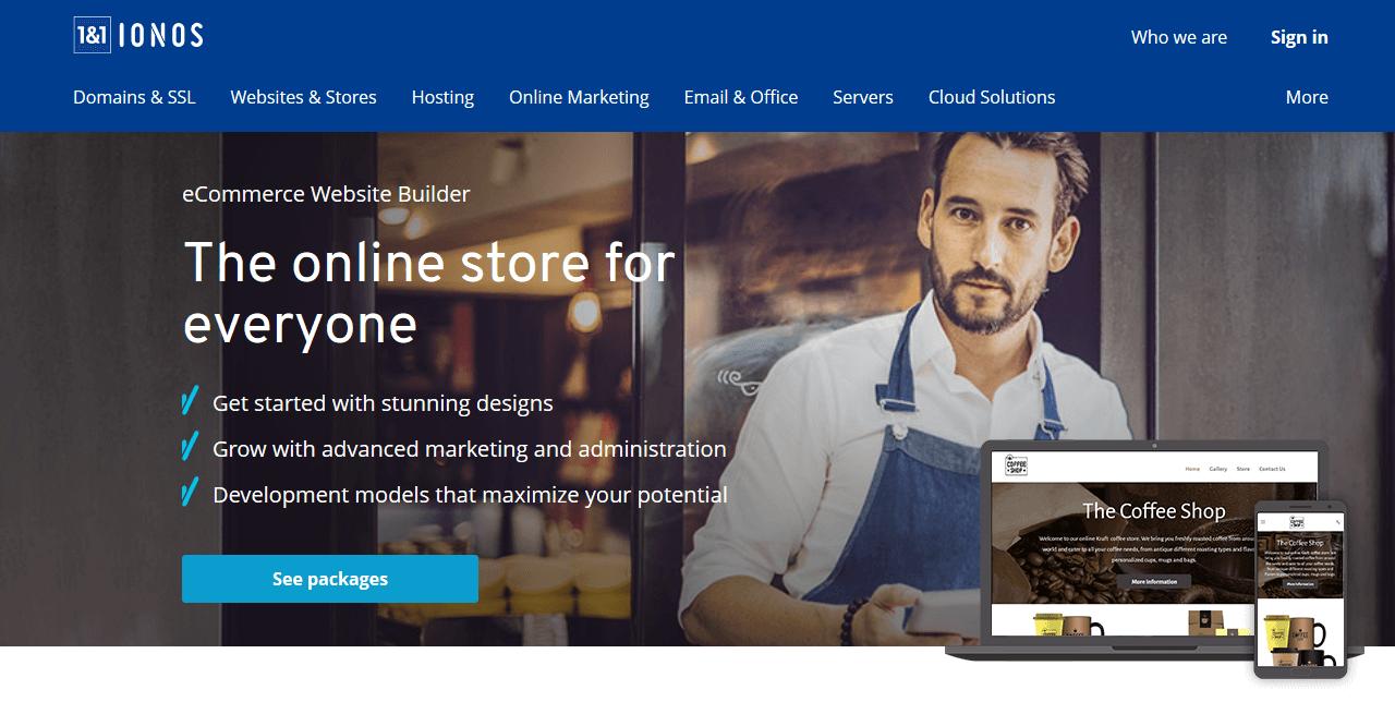 E-commerce platforms | Online store software comparison 2019 - 1&1 IONOS