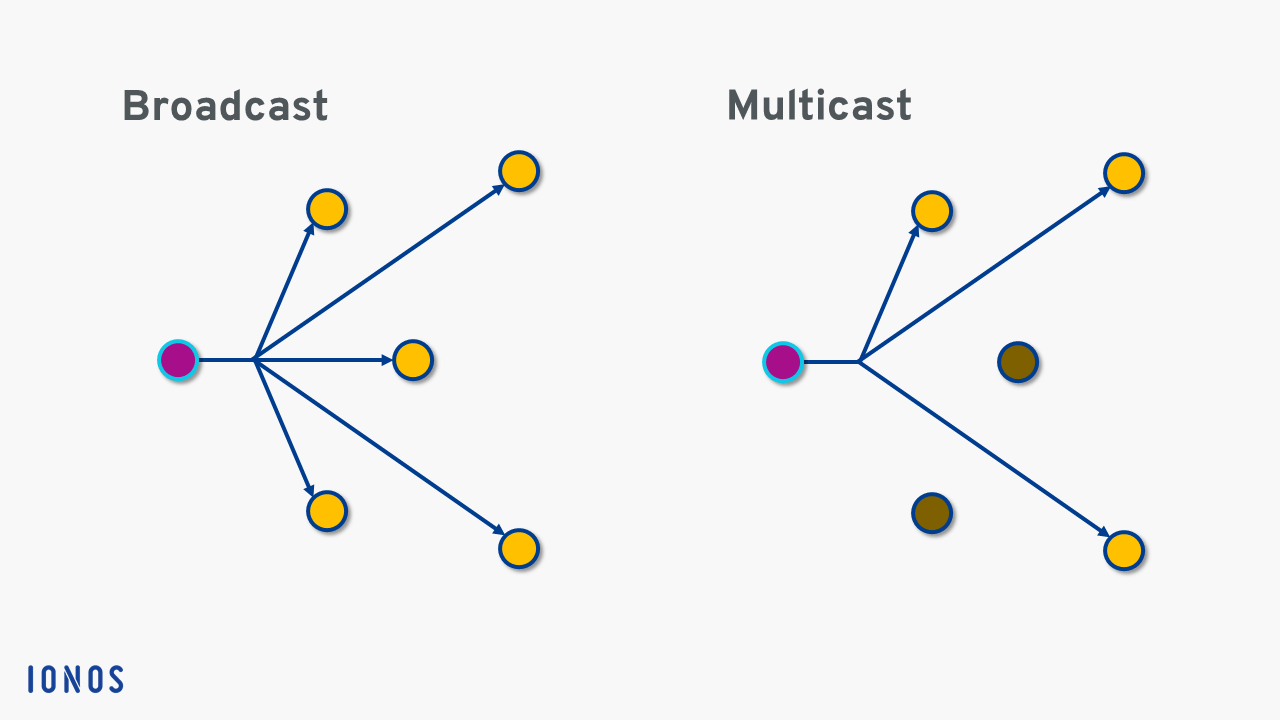 Multicast: fundamentals, functions and protocols - 1&1 IONOS