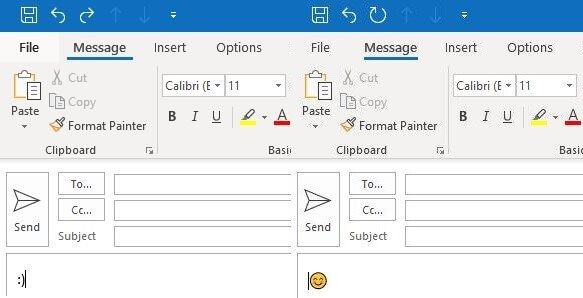 Outlook emojis: How to add smileys in Outlook - 1&1 IONOS