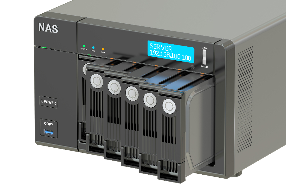 What is a network attached storage (NAS)? - 1&1 IONOS