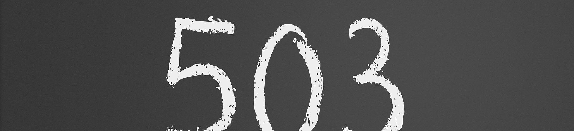 HTTP Error 503 (Service Unavailable): how to fix website