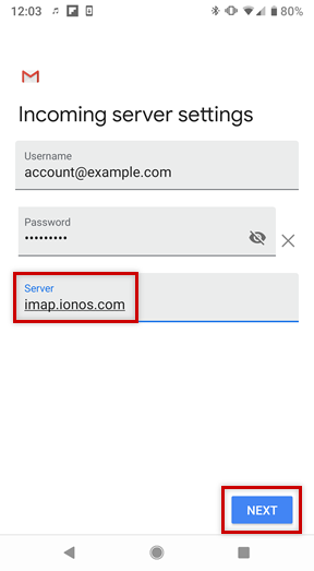 Setting Up an Email Account on an Android Smartphone - 1&1
