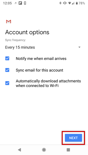 Setting Up an Email Account on an Android Smartphone - 1&1 IONOS Help