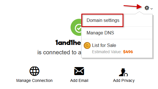 Preparing a Domain Transfer with GoDaddy and Accessing the